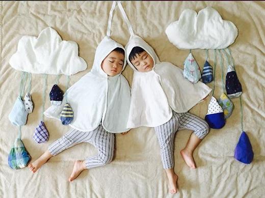 Bạn có thể làm ngay bộ ảnh như thế này cho con mình mà vẫn không sợ chúng thức giấc.