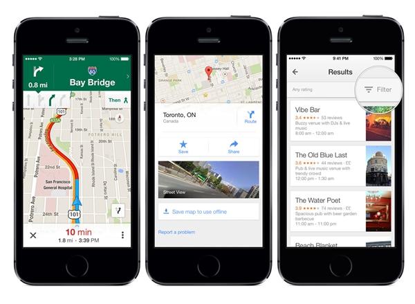 Google Maps là ứng dụng bản đồ tốt nhất hiện nay. (Ảnh: internet)