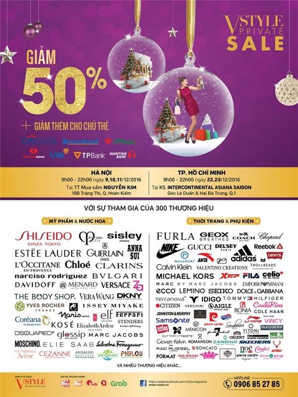 Mùa Giáng sinh thơm của Vstyle's Private Sale