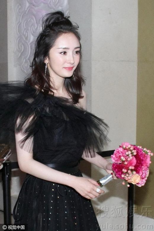 Dương Mịch xuất hiện rạng rỡ sau scandal chồng ngoại tình