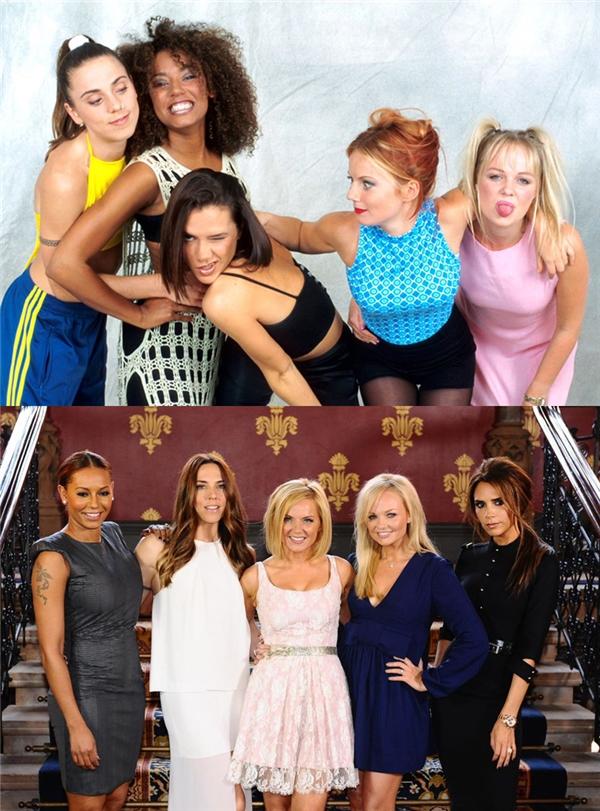 Spice Girls: Sau nhiều lần tạm ngưng hoạt động và tái hợp, đến tháng 07/2016, Spice Girls quay trở lại hoạt động với ba thành viên Geri Halliwell, Emma Bunton và Melanie Brown, dưới cái tên The Spice Girls - GEM. Ngày 23/11/2016, ca khúc Song For Her của nhóm bị rò rỉ trên mạng.