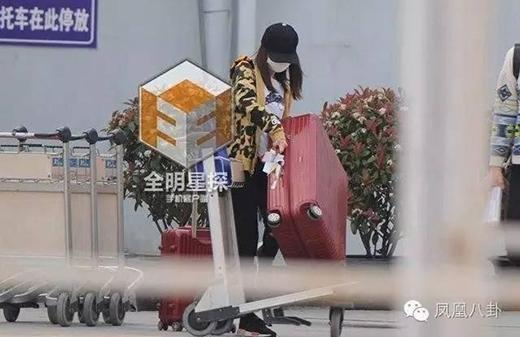 Tuy bầu bí nhưng không có chồng ở cạnh, Lâm Tâm Như kệ nệ khuânvác hành lý.Nhiều fan của Hạ Tử Vycảm thấy xót xa và lên tiếng trách mắng tài tử không biết thương yêu vợ.