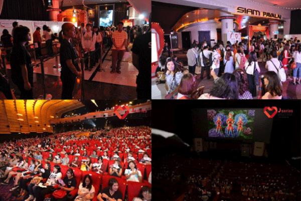 Chương trình đã được tổ chức ở Thái Lan, Indonesia và thu hút mỗi năm hơn 1,000 fansphim Nhật tham gia.