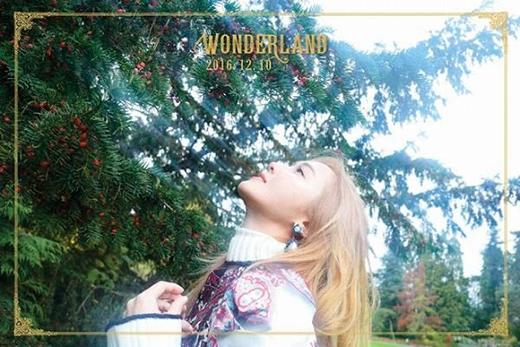 Những hình ảnh đầu tiên của album Wonderland.