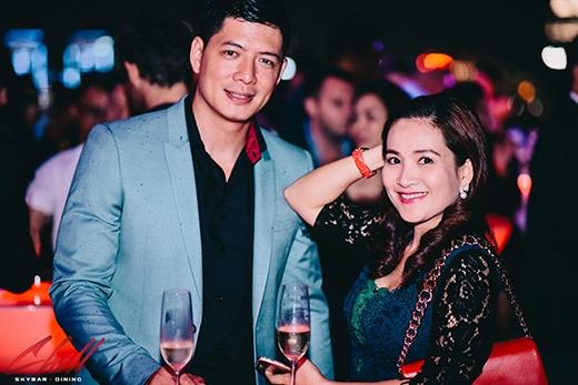 Vợ chồng diễn viên Bình Minh.