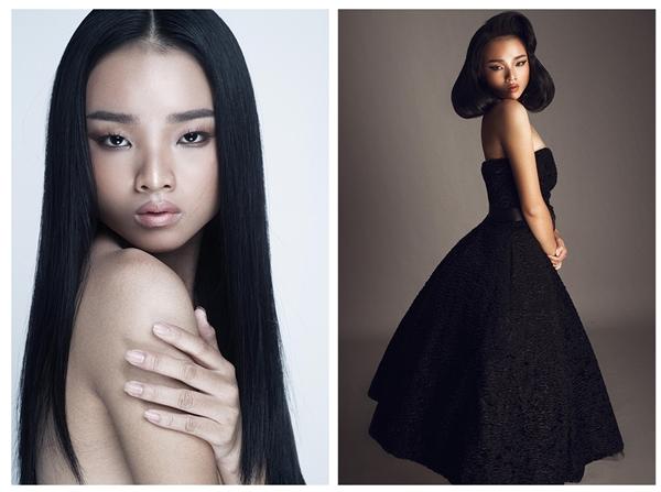 Nguyễn Hoàng Thu Trúc sinh năm 2002 có chiều cao vượt trội 1m75 khi chỉ mới 14 tuổi, số đo 3 vòng: 86-64-91. Cô gái này gây ấn tượng mạnh với gương mặt Châu Á, đôi mắt rất thu hút.