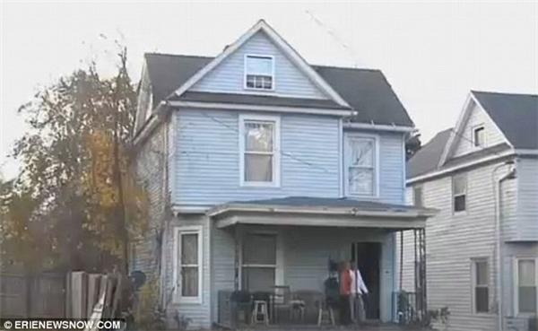 Ngôi nhà nơi tìm thấy xác của Dyquain.