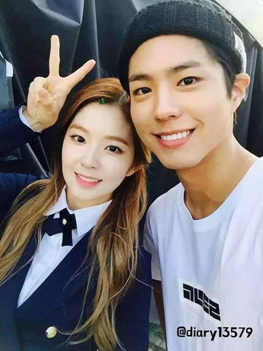 Cô nàng Irene gây sốt điên đảo khi bày tỏ cảm xúc với Park Bo Gum