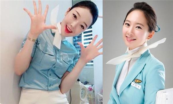 Vốn là quốc gia có nhiều trai xinh gái đẹp, những nữ tiếp viên Hàn Quốc vừa có làn da trắng mịn màng, khuôn mặt xinh xắn lại có nụ cười duyên dáng vô cùng đáng yêu.