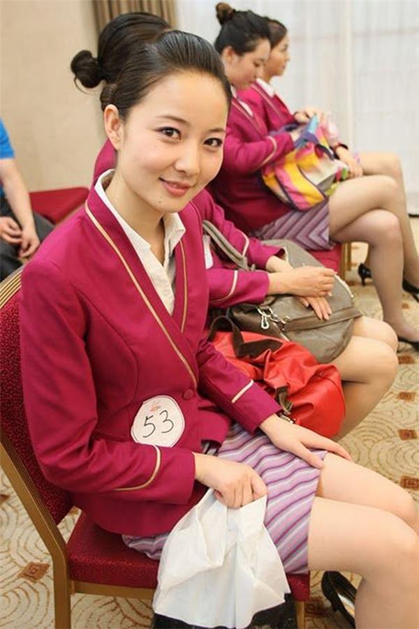 Các nữ tiếp viên của hãng hàng không Trung Quốc cũng xinh đẹp không kém.