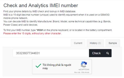 Cách kiểm tra khai sinh của bất kỳ điện thoại nào chỉ trong 3 phút