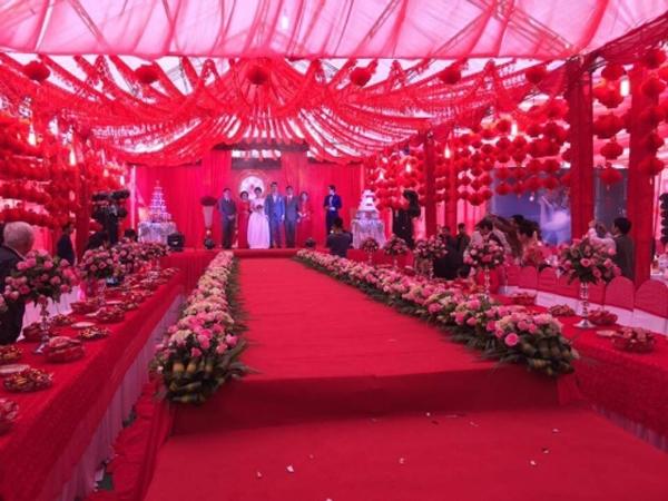 Những hình ảnh trong đám cưới tại Bắc Kạn đang nhận được rất nhiều sự quan tâm từ dân mạng.(Ảnh: Internet)