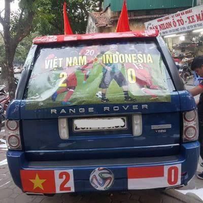 """""""Tác phẩm"""" này sẽ là nguồn động lực to lớn cho Đội tuyển Quốc gia Việt Nam chiến đấu hết mình trong buổi tốihôm nay."""