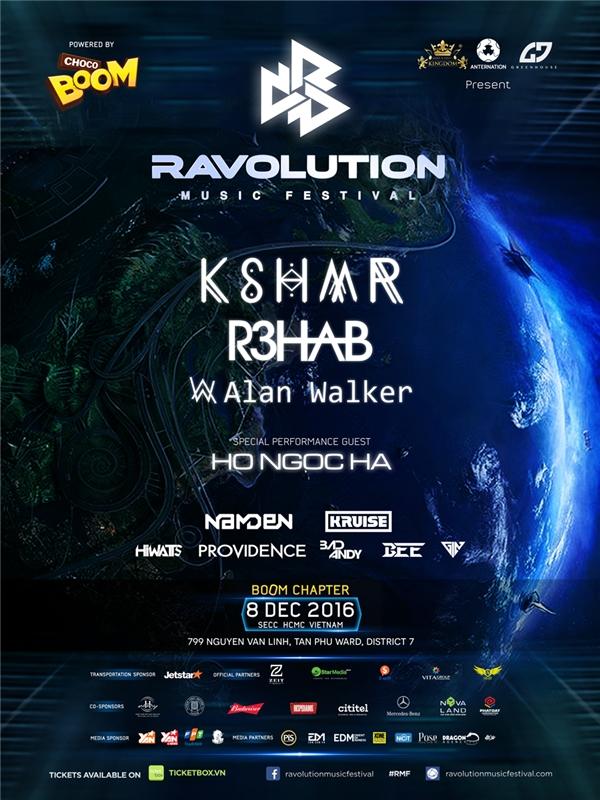 Những điều làm nên sự khác biệt của Ravolution Music Festival