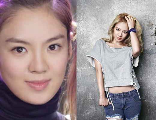 Netizen cho rằng, khuôn mặt của cô đã được gọt bớt, chiếc mũi cũng đã cao hơn và không còn bị thô như trước.