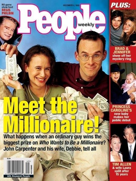 Số tiền thực tế số tiền mà John nhận được lại không đến mức để gọi anh là triệu phú.