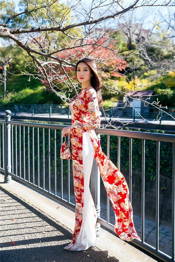 Mỹ Linh - Thanh Tú diện kimono đẹp xuất sắc không kém gái Nhật