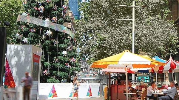Giáng sinh ở Sydney ấm áp lạ kì!