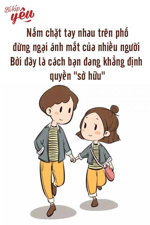 Chỉ cần yêu thì làm gì cùng nhau cũng sẽ cảm thấy hạnh phúc