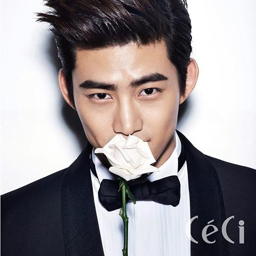 Anh chàng ca sĩ điển trai của 2PM cũng là một người rất thần tượng Yoona.