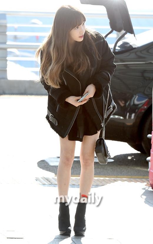 Taeyeon xuất hiện tuy xinh đẹp nhưng quá gầy gò khiến fan xót xa lo lắng.