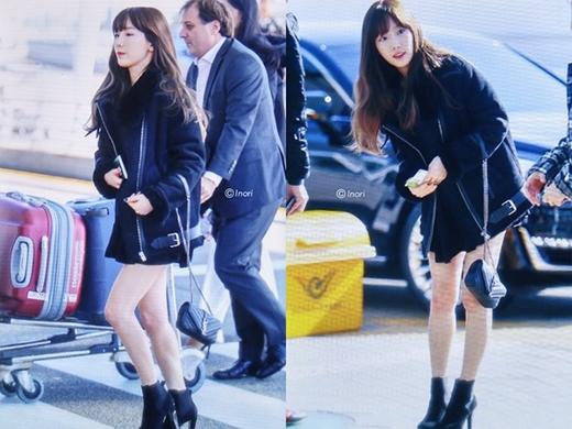 Cô nàng vốn có nhan sắc xinh đẹp. Mọi khoảnh khắc xuất hiện, Taeyeon đều thật sự tỏa sáng tuy vóc dáng nhỏ nhắn nhưng lại rất đáng yêu.
