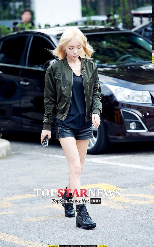 """Vẻ đẹp giống như """"thần tiên tỉ tỉ"""" của Taeyeon thách thức mọi góc chụp."""