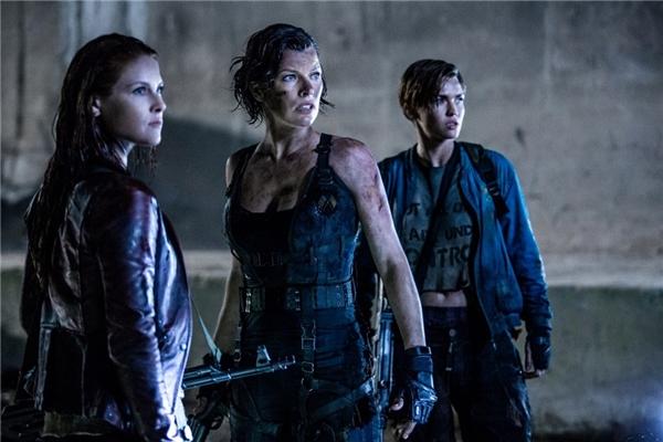 Resident Evil: The Final Chapter(27/1)là phần cuối của loạt phim zombie đình đám.