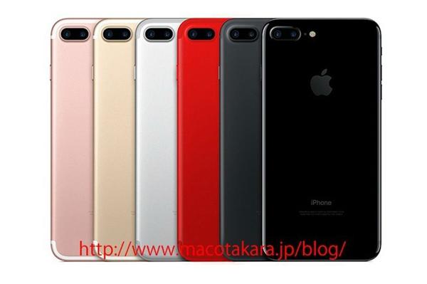 iPhone 8 sẽ có thêm màu đỏ tươi. (Ảnh: Macotakara)