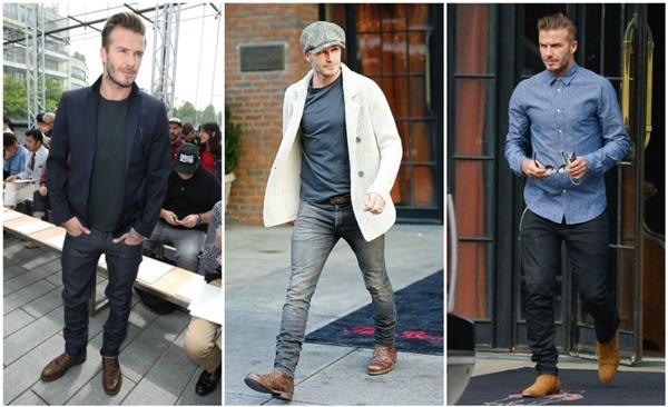 Phong cách thảm đỏ lẫn đời thường của Beckham luôn được khen ngợi.