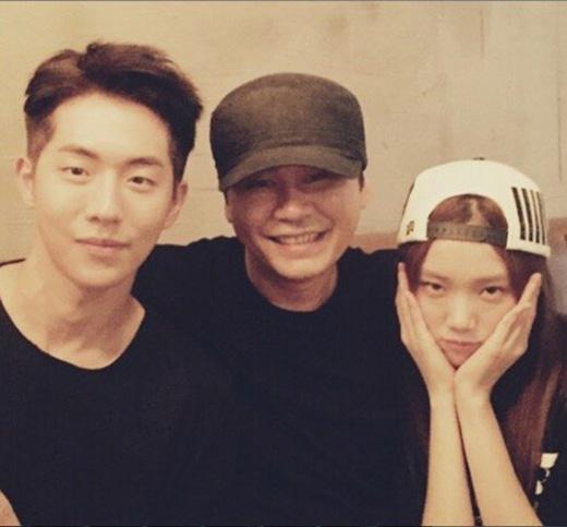 """Lee Sung Kyung và Nam Joo Hyuk cùng là """"gà"""" nhà YG."""