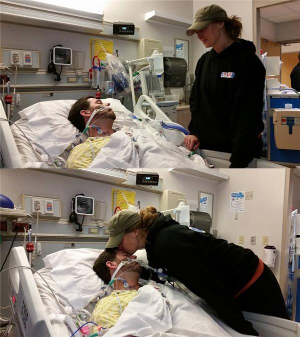 Chị gái của anh cho biết quả tim của anh đã được hiến tặng cho một thiếu niên 17 tuổicó ngày sinh nhật trùng với ngày Giáng Sinh.