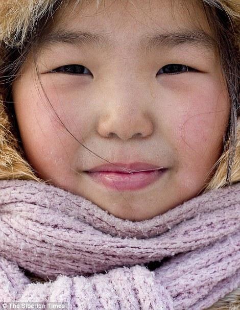Các em học sinh tại Yakutia thường xuyên phải sống với cái lạnh buốt giá.