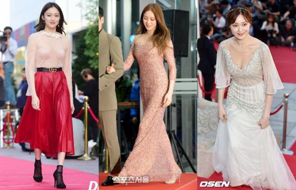 Xuất hiện trên thảm đỏ không nhiều nhưng mỗi lần có cơ hội, nữ diễn viên đều thành công gây ấn tượng mạnh với công chúng bởi gu ăn mặc chất lừ.