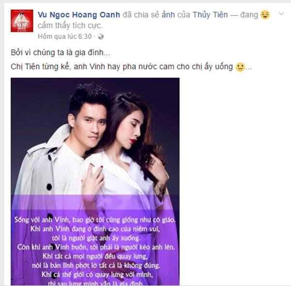 Những sao Việt công khai bênh vực vợ chồng Thủy Tiên trước bão dư luận - Tin sao Viet - Tin tuc sao Viet - Scandal sao Viet - Tin tuc cua Sao - Tin cua Sao