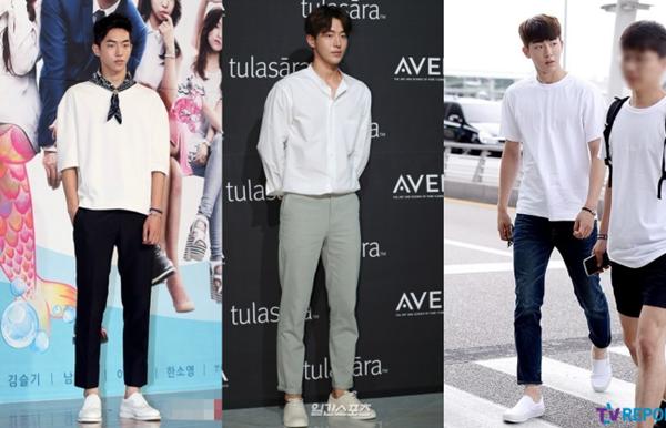 Chưa hết, phong cách thời trang của Nam Joo Hyuk cực ổn, giản dị nhưng luôn được lòng giới trẻ.