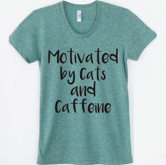 """""""Mèo và cà phê là nguồn động lực của tôi""""."""