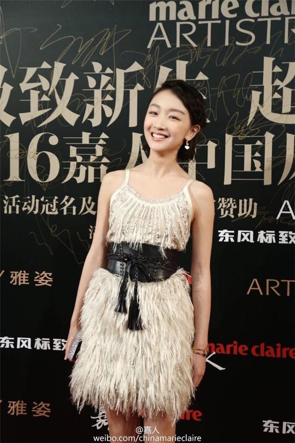 Tân ảnh hậu Kim Mã Châu Đông Vũ vô cùng tươi tắn đáng yêu.