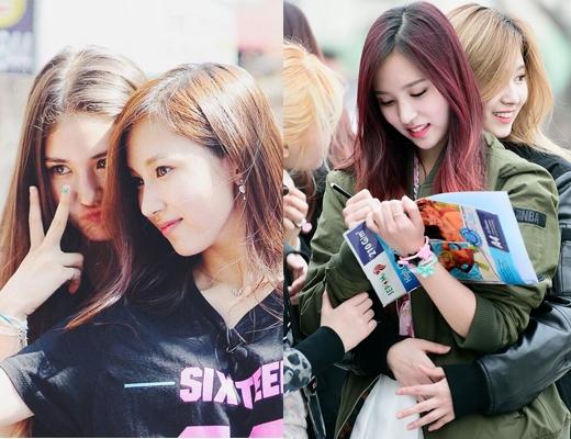 """Cặp đôi """"na na"""" Mina - Sana (TWICE) này dường như luôn có một mục đích: """"nắm tay nhau thật chặt, bước bên nhau thật lâu, hứa với nhau một câu... sẽ ôm hoài đến suốt cuộc đời!"""""""