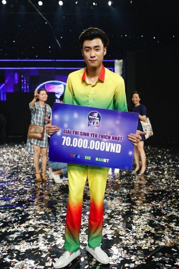 Vương Anhxuất sắc đạt hai giải thưởng trong cuộc thi.(Ảnh: Internet)