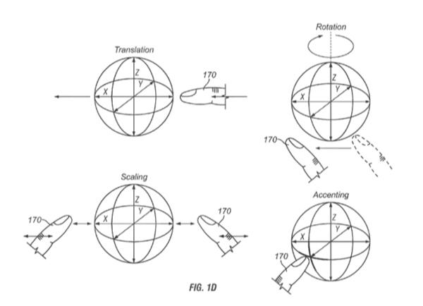 Cách hiển thị một vật thể trong không gian 3 chiều của iPhone. (Ảnh: internet)