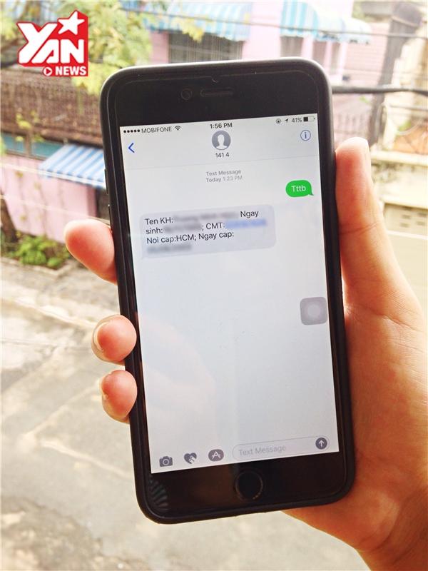 Nếu phát hiện bất kì thông tin nào chưa chính xác trong tin nhắn gửi về,bạn cần phải liên hệ với nhà mạng để thay đổi cho đúng.