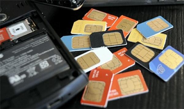 Các nhà mạng đã tiến hành khóa hơn 11 triệu SIM rác trên thị trường. (Ảnh: internet)