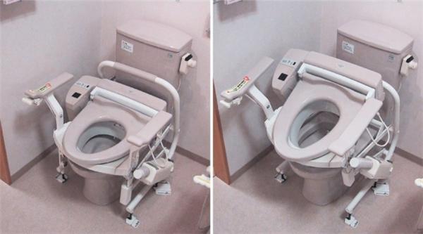 Bồn vệ sinh ở đây có thể làm được rất nhiều thứ, từ sưởi ấm cho đến tự cọ rửa và giúp đỡ người tàn tật nữa.