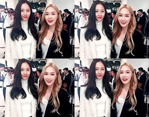 """Jessica và Krystal nổi tiếng là cặp chị em có gu """"chất"""" của Hàn Quốc."""