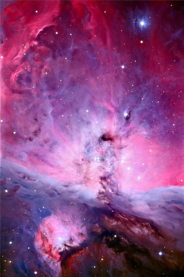 Bức ảnh có độ phân giải cao nhất từng được một chiếc kính thiên văn chụp được về Tinh vân Orion.