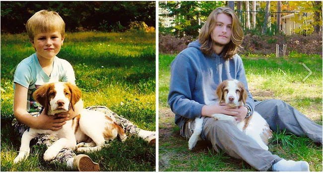 13 năm tuổi thơ đã đồng hành cùng cậu bạn này.