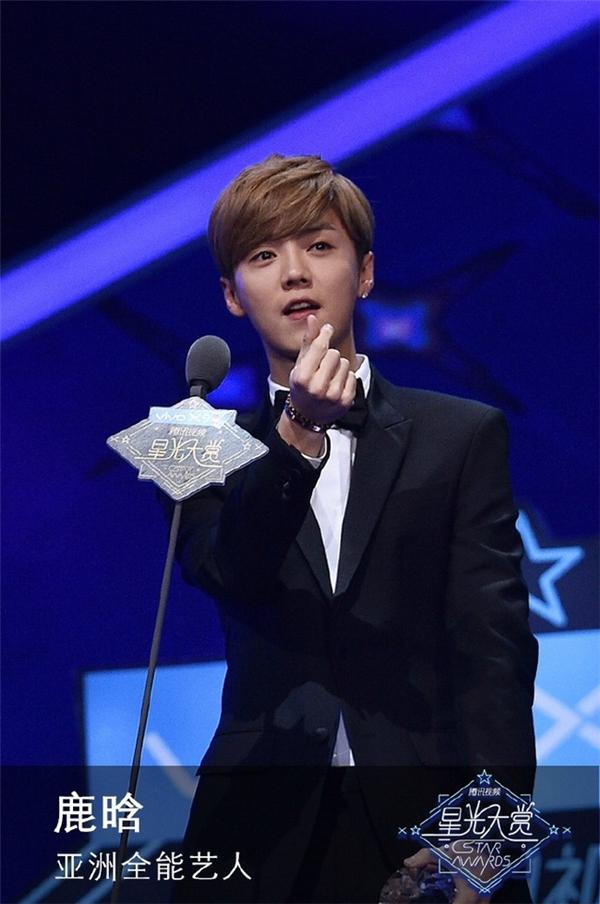 Lu Han chiến thắng ở hạng mục Ngôi sao toàn năng châu Á.