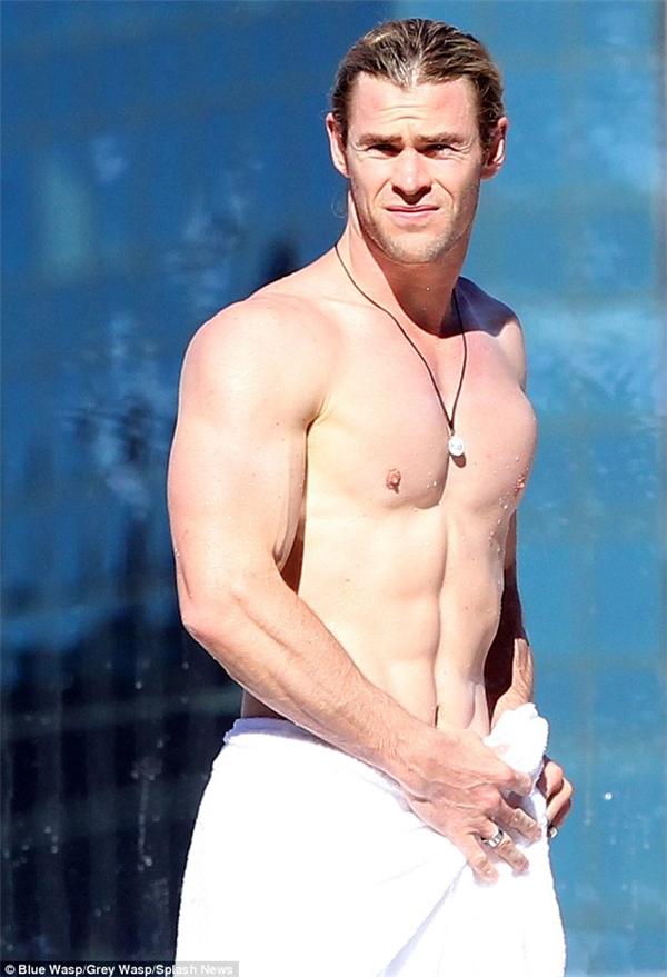 Chris Hemsworth là một trong nhữnghình mẫu anh hùng hoàn hảo của Marvel.