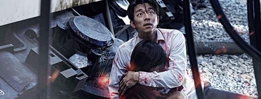 Gong Yoo trong Train to Busan.Train to Busan nhanh chóng trở thành bộ phim quốc dân tại quê nhà với 11,6 triệu khán giả tới rạp, thu về gần 100 triệu USD (khoảng 2,2 nghìn tỉ VND), đứng thứ 11 trong số những phim điện ảnh Hàn Quốc ăn khách nhất lịch sử.